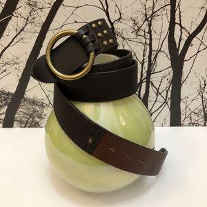MaxMara Weekend Leather Belt Large
